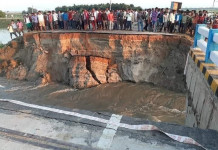 Bihar: Approach road to bridge collapses within a month of inauguration, govt gets flak